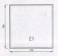 Podkladové sklo E1F