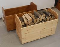 Zásobník na dřevo mobilní
