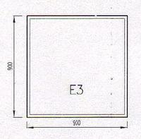 Podkladové sklo E3F