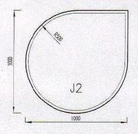 Podkladové sklo J2F