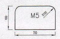 Podkladové sklo M5