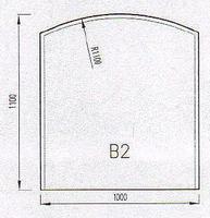 Podkladové sklo B2F
