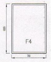 Podkladové sklo F4F
