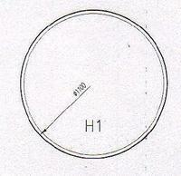 Podkladové sklo H1F