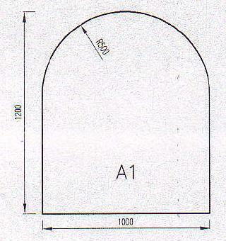 Podkladové sklo A1
