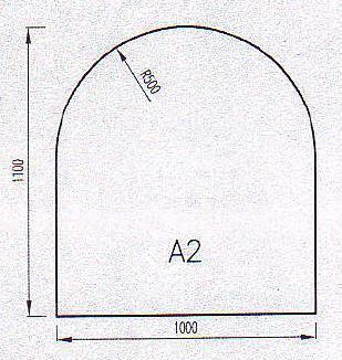 Podkladové sklo A2