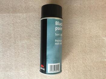 Jotul černá barva ve spreji 400 ml - 1
