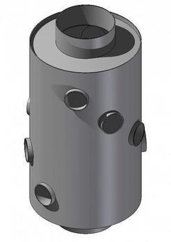 Výměník 130 mm / 480 mm