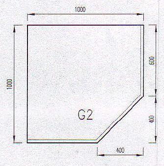 Podkladové sklo G2F-10