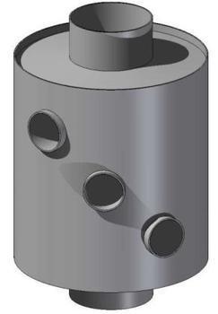 Výměník 120 mm / 315 mm