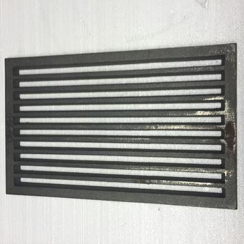 Litinový rošt 237 x 421 mm (9x16 palců) - 1