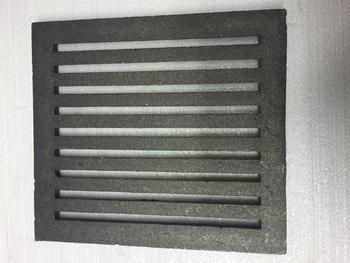 Litinový rošt 237 x 290 mm (9x11 palců)