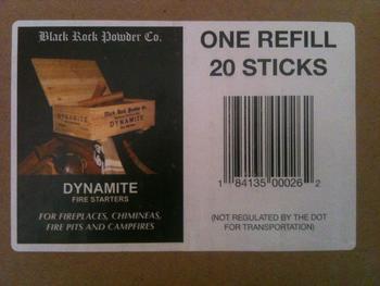 Lienbacher podpalovač DYNAMITE FIRE STARTERS - náplň 20 ks - 1