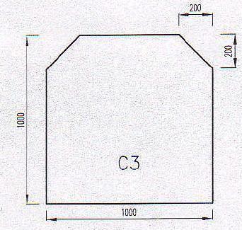 Podkladové sklo C3-10