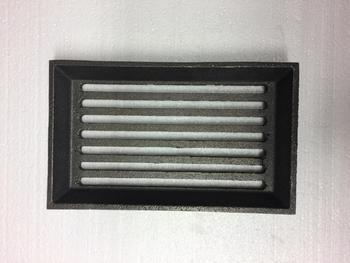 Litinový rošt  ABX -155 x 255 mm