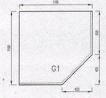 Podkladové sklo G1F