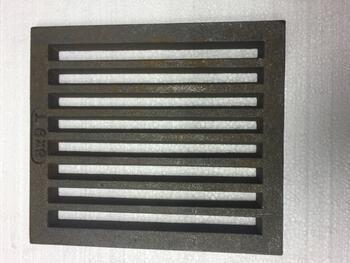 Litinový rošt 210 x 237 mm (8x9 palců) - 1