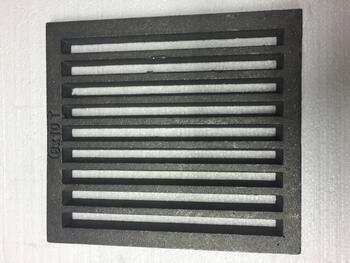 Litinový rošt 237 x 263 mm (9x10 palců) - 1