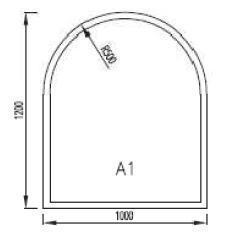 Podkladové sklo A1F8