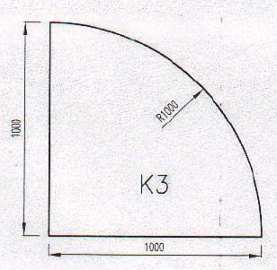 Podkladové sklo K3