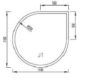 Podkladové sklo J1F8