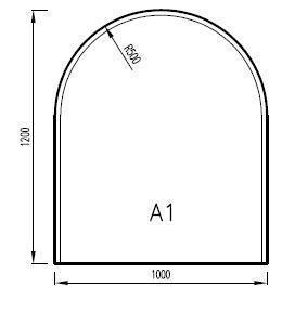 Podkladové sklo A1F
