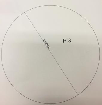 Podkladové sklo H3
