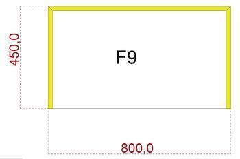 Podkladové sklo F9F