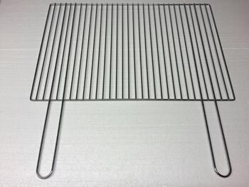 Grilovací rošt - 57 x 30 cm, rukojeť