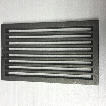 Litinový rošt 210 x 341 mm (8x13 palců) - 1