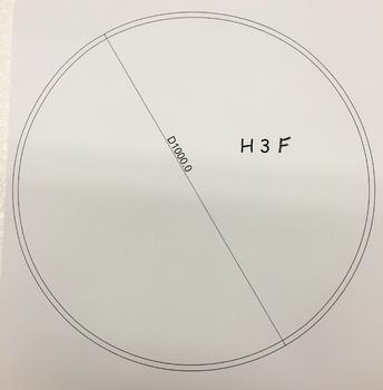Podkladové sklo H3F