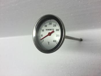 Teploměr do udírny, délka: 150 mm - 1