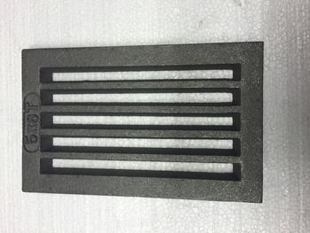 Litinový rošt 133 x 210 mm (5x8 palců) - 1