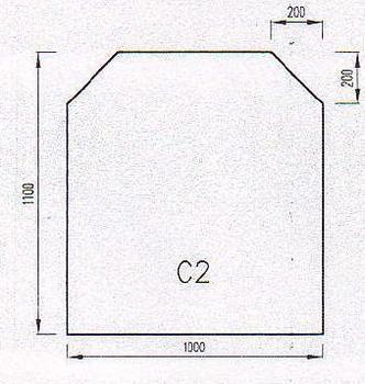 Podkladové sklo C2
