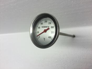 Teploměr do udírny, délka: 200 mm - 1