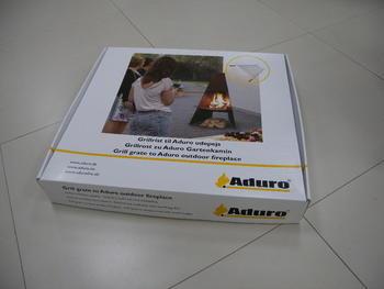 Rošt pro venkovní krb/gril ADURO