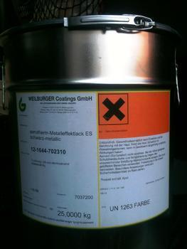 SENOTHERM barva rozlévaná, 1 kg černá