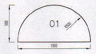 Podkladové sklo O1F