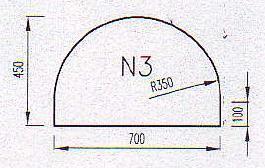 Podkladové sklo N3