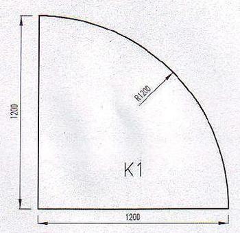 Podkladové sklo K1