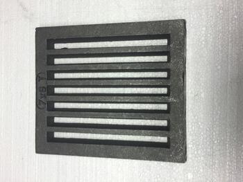 Litinový rošt 237 x 290 mm (9x11 palců) - 1