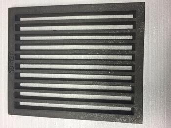 Litinový rošt 263 x 315 mm (10x12 palců) - 1