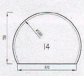 Podkladové sklo I4F8