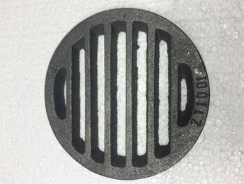 Litinový rošt kulatý 132 mm - 1