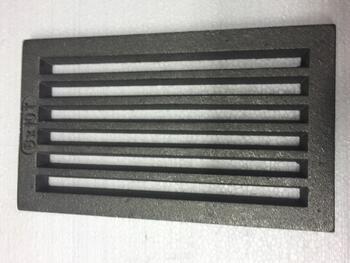 Litinový rošt 157 x 263 mm (6x10 palců) - 1