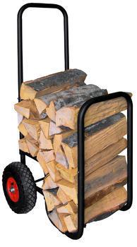 Stojan na dřevo s kolečky