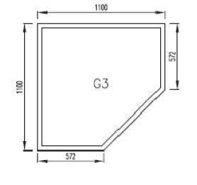 Podkladové sklo G3F8