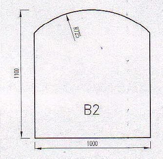 Podkladové sklo B2