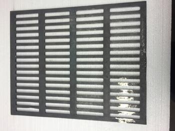 Litinový rošt na grilování velký - 440 x 355 mm - 2