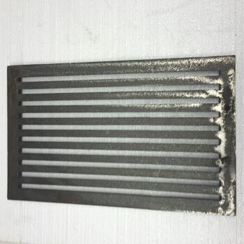 Litinový rošt 237 x 421 mm (9x16 palců) - 2